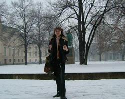 春のはずなのに雪のベルリン