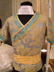 バレエカフェに飾ってあった マラーホフのソロル衣裳