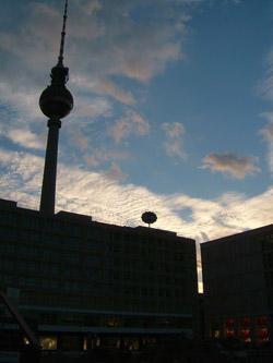 ベルリンの夕暮れ
