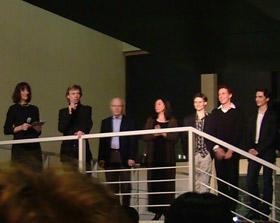 3月30日公演後パーティでマラーホフ監督他
