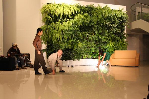 あいちのアートの森 「ダンス&ミュージック即興セッション」 撮影:猪熊康夫