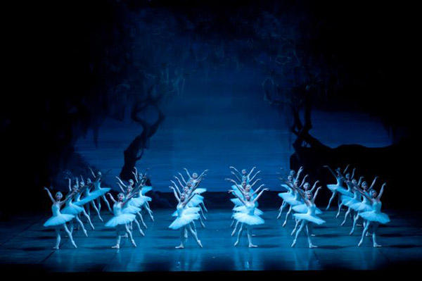 松岡伶子バレエ団公演『白鳥の湖』 撮影:むらはし和明