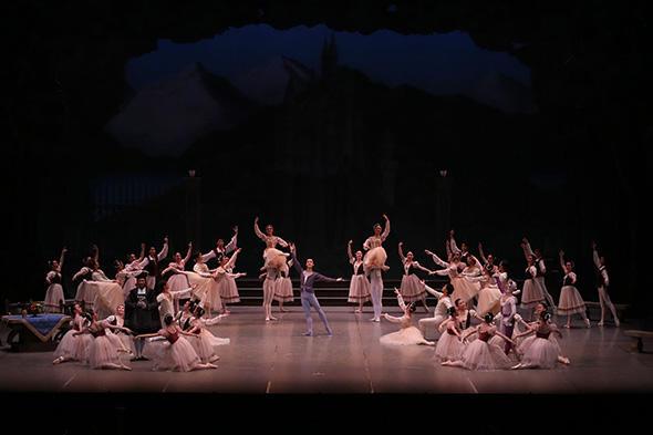 『白鳥の湖』撮影:むらはし和明