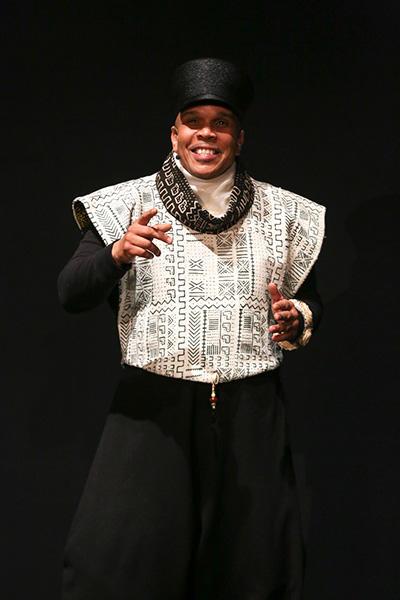 DanceAfrica Artistic Director Abdel R. Salaam Photo Credit:Richard Termine