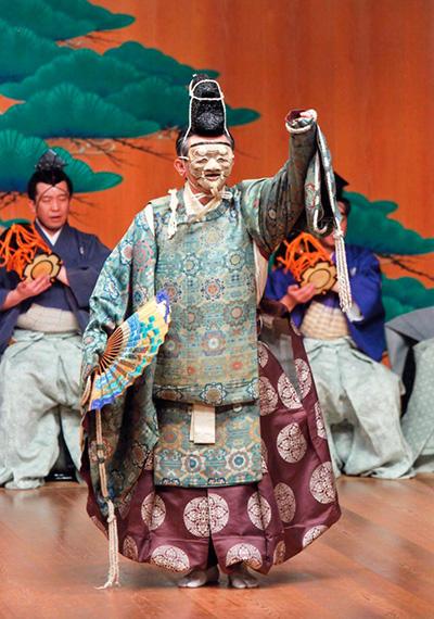 『翁』(C) Kanze Noh Theatre