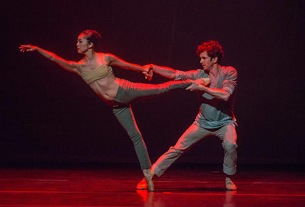 Aki Saito in Duet  Photo (C) Stephanie Berger