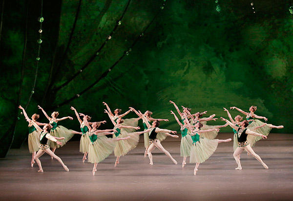 George Balanchine's Jewels. Photo (C) Paul Kolnik