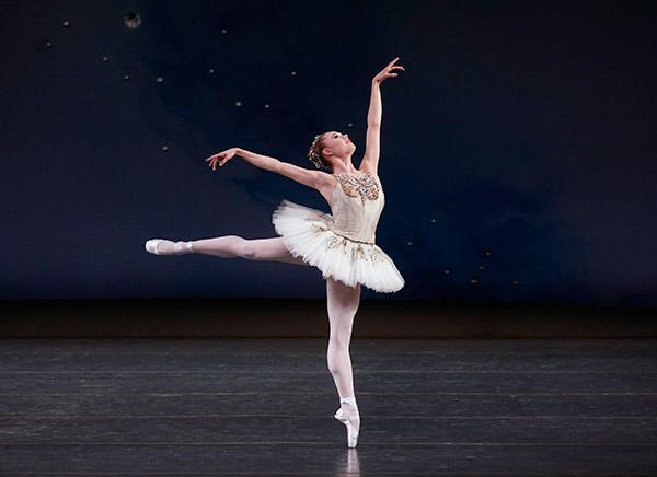 Sara Mearns in George Balanchine's Jewels. Photo (C) Paul Kolnik