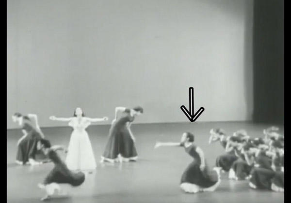 『Primitive Mysteries』 Photo courtesy of the Martha Graham Center