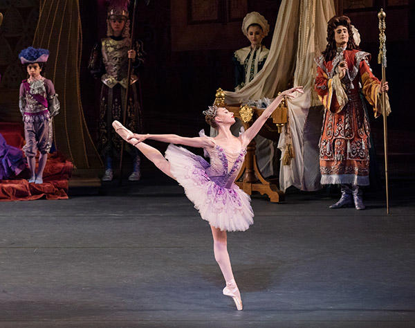 "Ashley Laracey in ""Sleeping Beauty"" Photo : PaulKolnik"