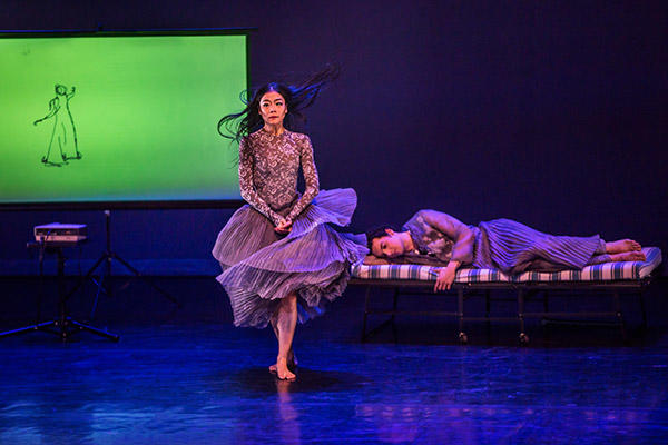 """Xin Ying and Lorenzo Pagano in """" I Used To Love You"""" Photo by Brigid Pierce"""