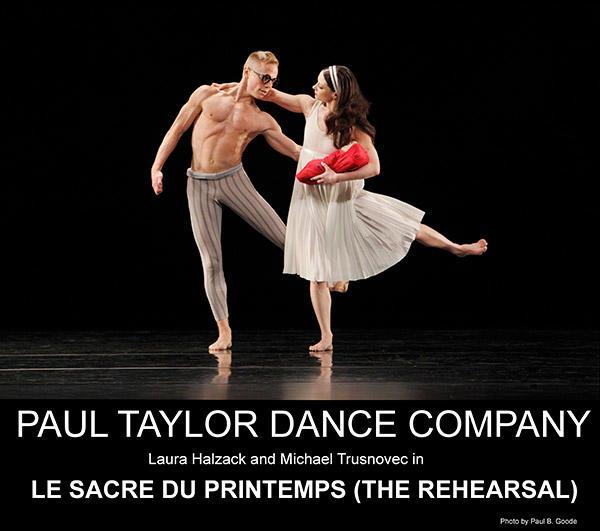 ポール・テイラーのカンパニーが『春の祭典(リハーサル)』ほか、3作品を上演した