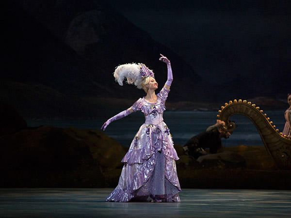 Christine Shevchenko as the Lilac Fairy in The Sleeping Beauty. Photo: Rosalie O'Connor.