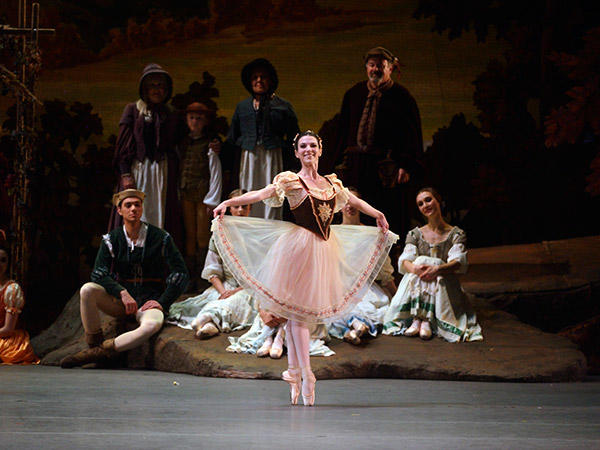 Luciana Paris in Giselle. Photo: Gene Schiavone.