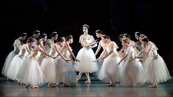 Veronika Part in Giselle. Photo: Gene Schiavone.