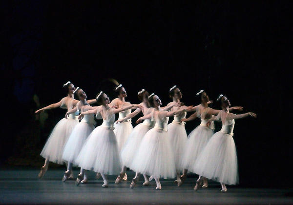 Scene from Giselle. Photo: Gene Schiavone.