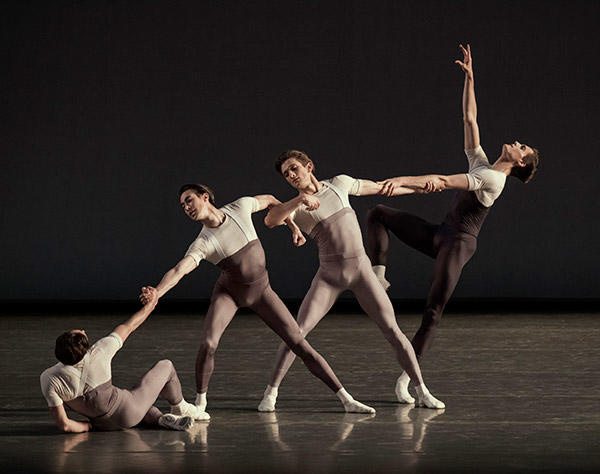 NYCB in Justin Peck's The Decalogue Photo (C) Paul Kolnik
