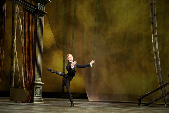 David Hallberg in Onegin. Photo: Gene Schiavone.