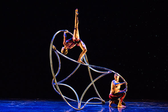 Dream Catcher  Steven Ezra, Rebecca Rasmussen  Photo by Eddy Fernandez
