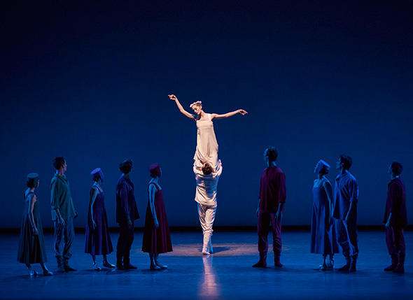Unity Phelan and Company in Alexei Ratmansky's Russian Seasons Photo by Paul Kolnik