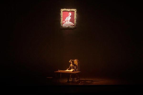 『ドン・キホーテ』第1幕 ドン・キホーテの夢 宮廷 (c)杜多洋一