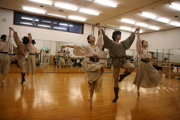 全京都洋舞協議会グアダラハラ公演 『シャンソネッタテデスカ』 (公開リハーサル・筆者撮影)