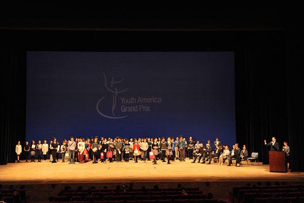 YAGP2016日本予選 表彰式 撮影:谷岡秀昌(スタッフ・テス)