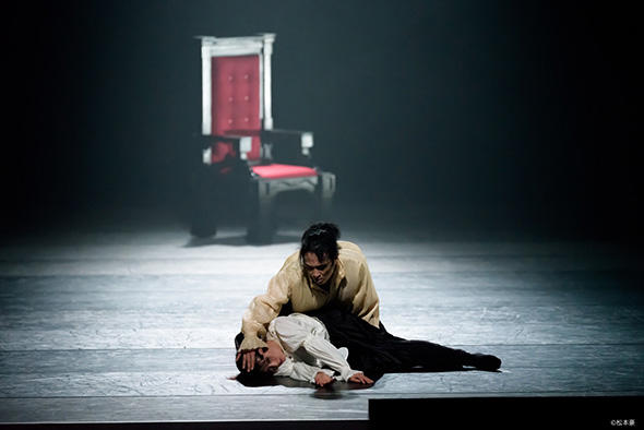 『Macbeth マクベス』池上直子、森優貴 撮影:松本豪