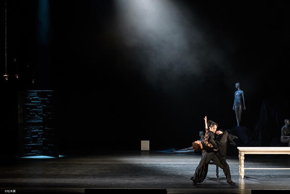 『Macbeth マクベス』池上直子、森優貴 撮影:松本豪(すべて)