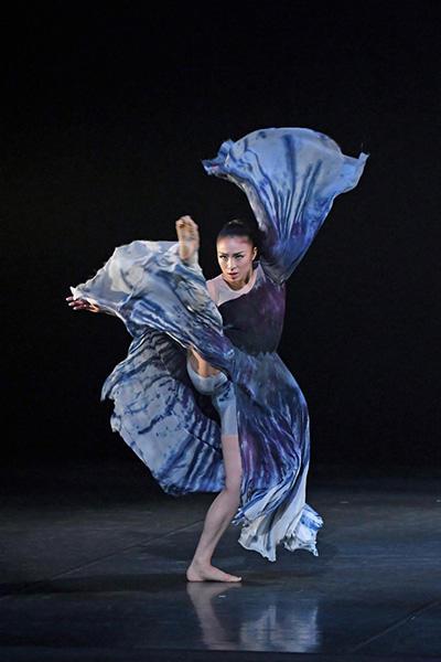 『What I pray for』sAtsuki Ballet、瀬島五月(振付・出演)撮影:古都栄二(テス大阪)