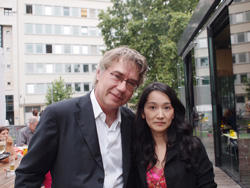 芸術監督カール・レーゲンスグルガーと筆者