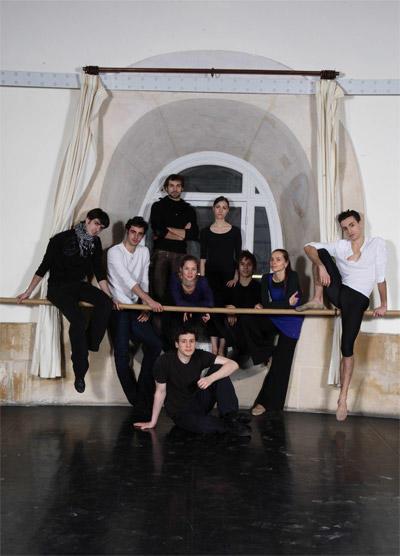 「ダンサー・コレオグラファー」公演のプログラムより(左から2人目) Photo Gala Reverdy / OPERA NATIONAL DE PARIS
