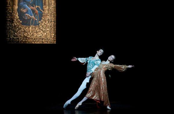 『ロメオとジュリエット』レティシア・プジョル マチュー・ガニオ (C)Julien Benhamou/Opéra national de Paris