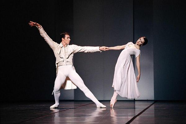「 クラヴィーゴ」ニコラ・ル・リッシュと Photo Icare / Opéra national de Paris