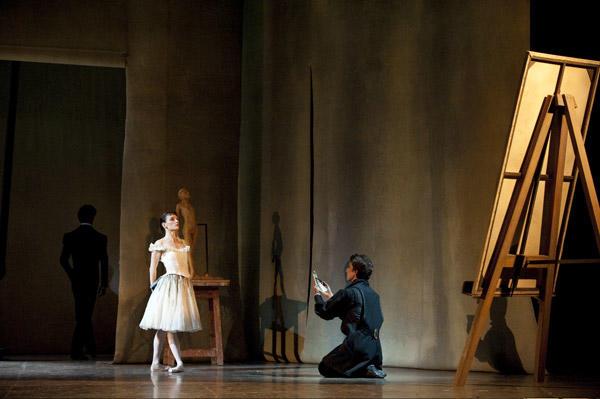 「ドガの小さな踊り子」バンジャマン・ペッシュと Photo Julien Benhamou / Opéra national de Paris