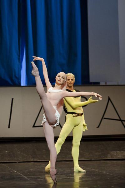 「フェードル」ミリアム・ウード・ブラーム、カール・パケット © Opera national de Paris / Agathe Poupeney