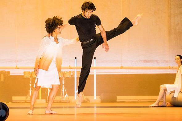 レティツィア・ガローニ、タケル・コスト © Opéra national de Paris/ Agathe Poupeney