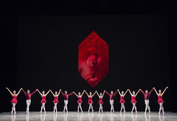 「ルビー」(C) Opéra national de Paris/ Julien Benhamou