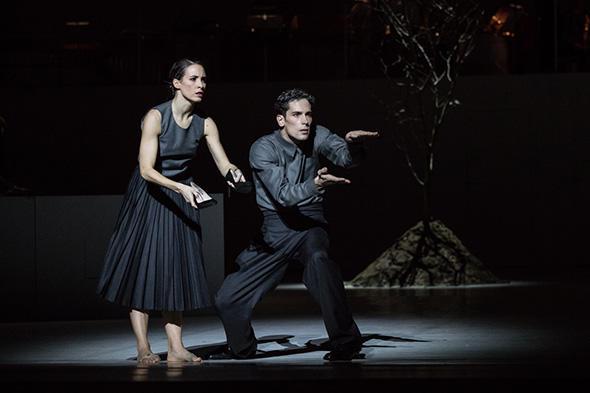 ステファン・ブリヨン、ミュリエル・ジュスペルギ (C) Opera national de Paris/ Ann Ray