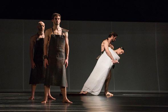 Vincent Chaillet   Orphée et Eurydice  Photo Yonathan Kellerman / Opéra national de Paris