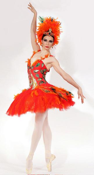 シャンゼリゼ歌劇場 「火の鳥」マリア・アレクサンドローヴァ ※当日の公演ではありません