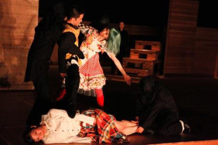 劇的舞踊『ホフマン物語』 撮影:篠山紀信