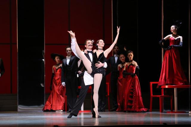 ウィーン国立バレエ団『こうもり』 photo:Kiyonori Hasegawa
