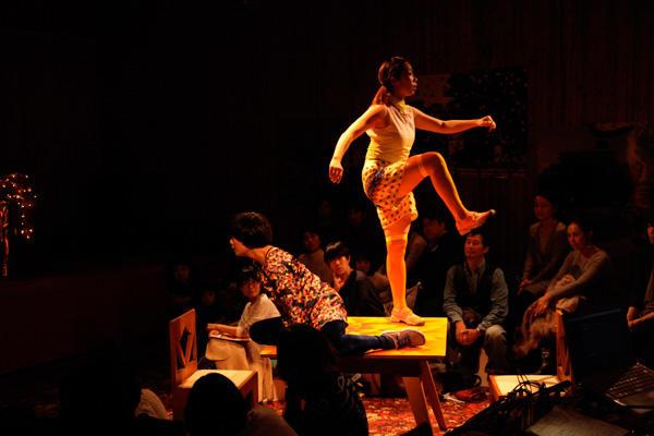 珍しいキノコ舞踊団『動物の◯(えん)』 撮影/片岡陽太(Yohya Kataoka)