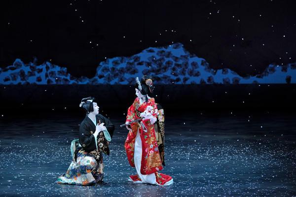 「日本舞踊×オーケストラ-伝統の競演-」 『ロミオとジュリエット』(c)青柳聡 写真提供:東京文化会館