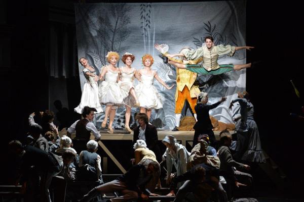 パリ・オペラ座バレエ団『天井桟敷の人々』 混乱する劇中劇 photo/瀬戸秀美(撮影はゲネプロより)