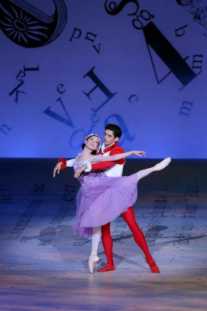 英国ロイヤル・バレエ団「不思議の国のアリス」 photo:Kiyonori Hasegawa