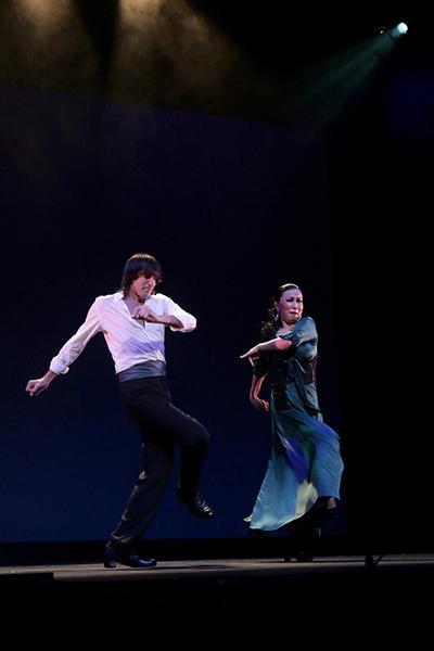 石井智子スペイン舞踊団「夢遊病者のロマンセ」