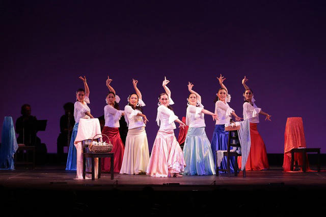石井智子スペイン舞踊団「七人の乙女の歌」