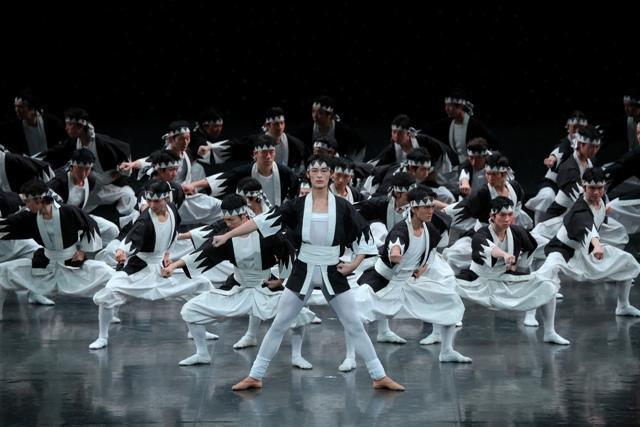 05sTheKabuki13-no.1829Morikawa(photo_Kiyonori Hasegawa) 東京バレエ団「ザ・カブキ」森川茉央(由良之助) Photo:Kiyonori Hasegawa